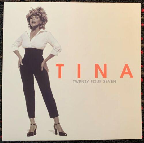 TINA TURNER Twenty Four Seven 12x12 square promo poster flat 2sided Virgin 1999