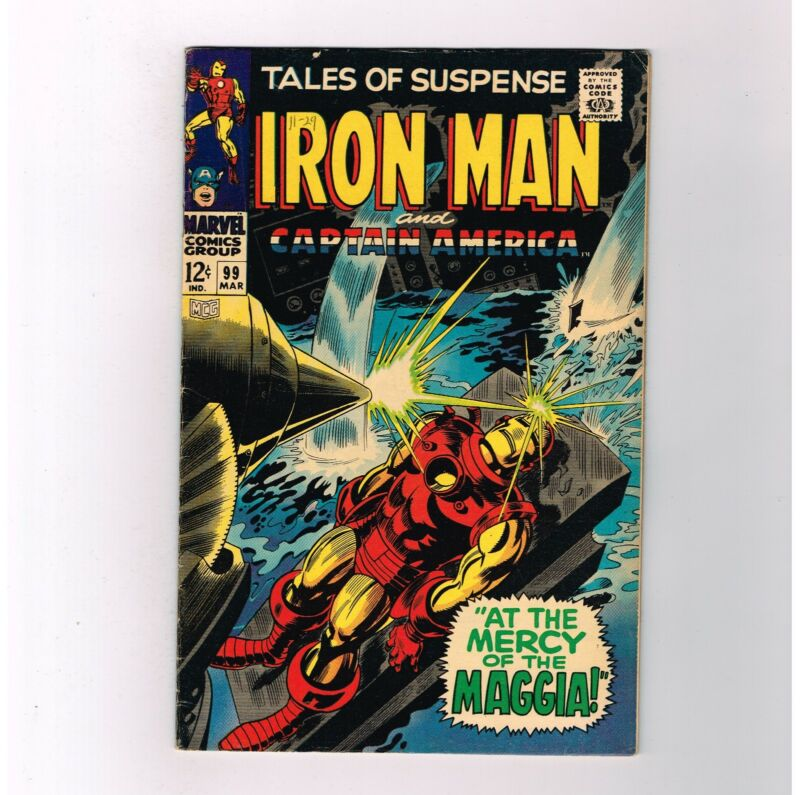 TALES OF SUSPENSE #99 Grade 7.0 Silver Age find! Final issue!