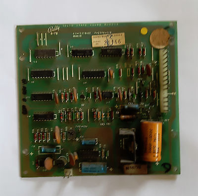 Bally Flipper Sound Board AS2518-32