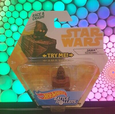 Hot Wheels - Star Wars - Battle Rollers - Jawa - Sandcrawler