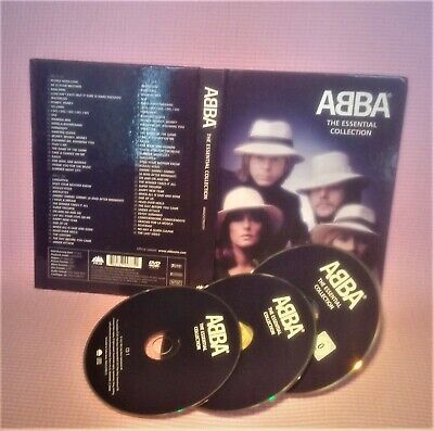 2CD+DVD  ABBA Essential Collection: Deluxe Casebook Edition