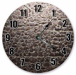 10.5 WALL BRICKS CLOCK - Large 10.5 Wall Clock - Home Décor Clock - 3041