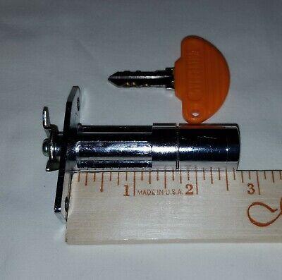 Slot Machine Pachislo Skill Stop Door Lock & Key Set - 2-3/4