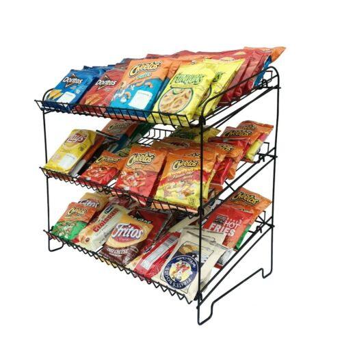 Snack Shop Display Racks Wire Rack Countertop Rack Shelves Display Wire Rack