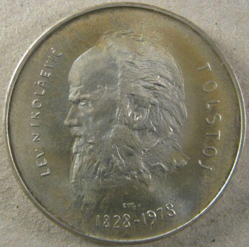 SAN MARINO 1978 1000 Lire KM 85 Birth of Tolstoy Choice Brilliant Uncirculated
