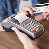 Debit cards machine with low rates or get better than you have
