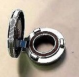 Ford Model A Motometer Locking Hinged Chrome Radiator Cap 1930-1931