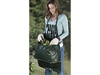 Garden Apron with Tool Carrier and Intergrated Weeding Bag