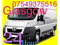 MAN with VAN 🚚 Removals - GLASGOW - ALL AREAS - 7 Days a week -⏰ 24hr service