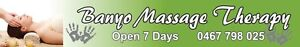 Massage Therapy Banyo Brisbane North East Preview