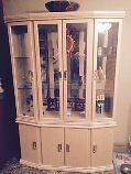 DUST PROOF CHINA CABINET