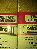 EMBELLISSEZ QUELQUE CHOSE : galon croisé - twill tape