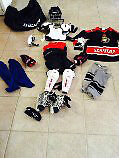 Kids Hockey equipment - complete set. Barely used.