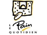 Waiters Waitress Barista's wanted at Le Pain Quotidien