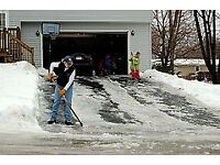 Driveway salting for the big freeze