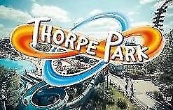 2 THORPE PARK TICKETS FOR BANK HOLIDAY SUNDAY 26TH AUGUST 2018