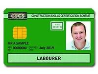 CSCS Labor card Training &Testing with ready Jobs-Sat.30.07.16-Operative test & L1 H&S test