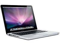 MacBook Pro 13 inch, 8GB RAM, 500 GB HDD
