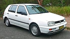 VW GOLF MK3 1997 Highland Park Gold Coast City Preview