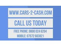 SCRAP CARS AND 4X4S WANTED TOP PRICES PAID