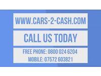 SCRAP CARS VANS & 4X4s WANTED