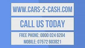 SCRAP CARS VANS AND 4X4S WANTED TOP PRICES PAID