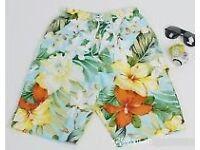 Joblot/Wholesale 33 Pcs Exclusive Floral Swim/Boards Shorts for Men