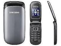 SAMSUNG E1150I BASIC FLIP MOBILE PHONE,UNLOCK ANY NETWORK COMES WITH CHARGER,LONG BATTERY LIFE