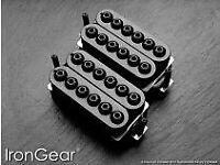 Iron gear Hammer Head pickup set (new)