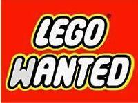 Large amount of Lego wanted.
