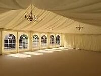 Wedding and party tent hire