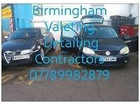 Birmingham mobile valeting detailing contractual.