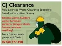 Rubbish clearance, waste removal, same day service