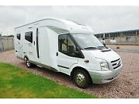 LHD Hobby Siesta T 650 TI limited edition. left hand drive with only 29,500 miles LHD