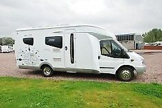 Hobby Siesta T 650 TL special edition. left hand drive with only 23,500 miles