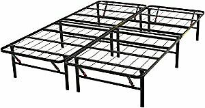 Platform Bed Frame, Black, Full/Double BRAND NEW IN BOX