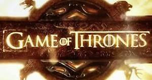 GAME OF THRONE BEST REDS 5IH. ROW FROM STAGE AT BELOW COST PRICE