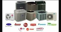 Central Air Conditioner Unit & Installation