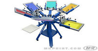 screen printing equipment and supplies