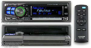 car Alpine head unit cda-9853 radio stereo auto