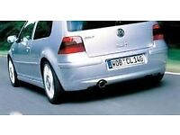Wanted mk4 golf 4 motion or 25th anniversary rear valance/bumper.