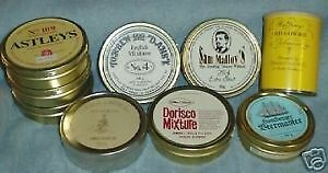 Looking to buy vintage Sealed tobacco tins (before 1970)