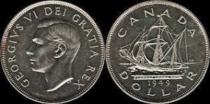 30 Pcs Canadian Silver Dollars Collection