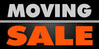 MOVING SALE!!! Everything must go!!!