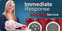 Same Day 24/7 Washer Repair & Installation Free check $60 off