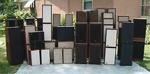VINTAGE COLLECTION OF AMPS,RECEIVERS,SPEAKERS,TUNERS FOR SALE