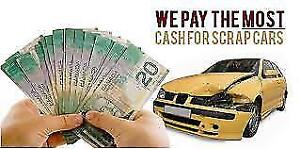 WE PAY $$CASH MONEY$$ FOR YOUR SCRAP CAR AND FREE TOWING.