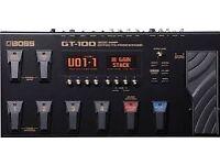 Boss GT100 multi effects pedal