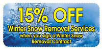 SNOW REMOVAL SCARBOROUGH EAST $25 UP