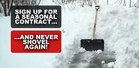 Affordable Snow Removal from $30.00/per call